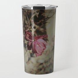 December Rose Travel Mug