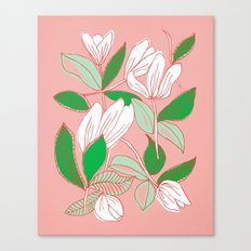 Floating Tulips Canvas Print