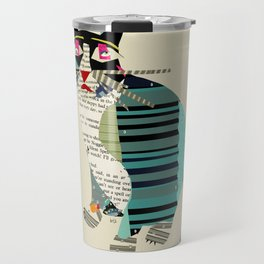 blackberry cat Travel Mug
