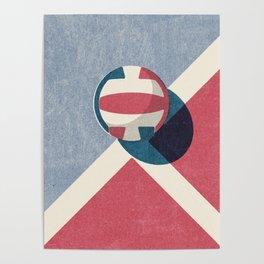 BALLS / Volleyball Poster