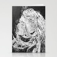 ellie goulding Stationery Cards featuring Ellie by Misha Libertee