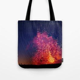 Kilauea Volcano Eruption .2 Tote Bag