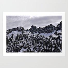 Snow Lake Trail Art Print