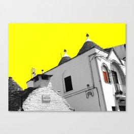 Alberobello trulli Canvas Print