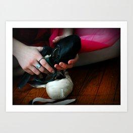 Dancer Shoes  Art Print