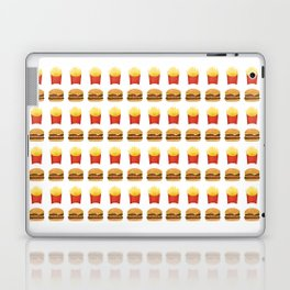 Burgers and Fries Pattern Laptop & iPad Skin