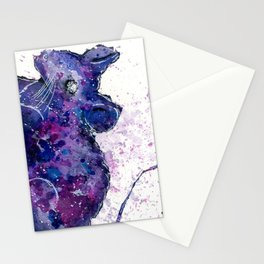 Space Mouse Stationery Cards