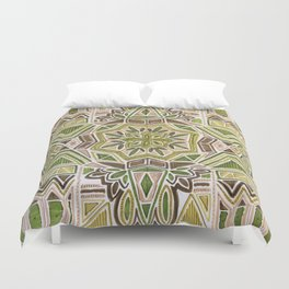 Earth Tapestry Duvet Cover