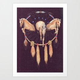 Wild Dreams Art Print