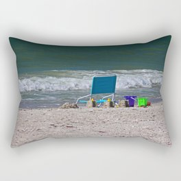 Love in the Distance Rectangular Pillow