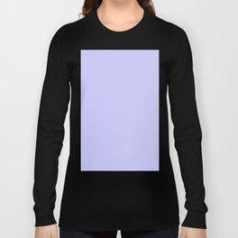 Periwinkle Blue Long Sleeve T-shirt