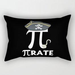 Funny Pi Day Pirate Rectangular Pillow