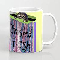 in the flesh Mugs featuring Frosted Flesh by Masmantha