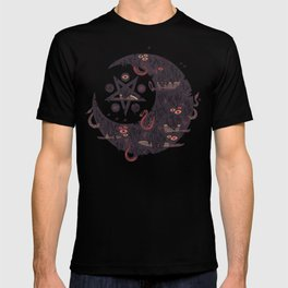 The Dark Moon Compels You to Fuck Shit Up T-shirt