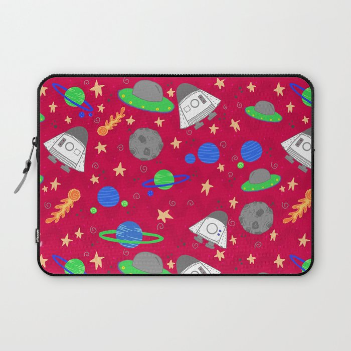 Space Ships Laptop Sleeve