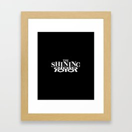 Don't Overlook - Classic Horror Logo Collection Framed Art Print