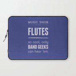 Flutes — Music Snob Tip #413 Laptop Sleeve