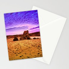 A Great Walk on the Beach Stationery Cards