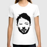 radiohead T-shirts featuring Thom Yorke, Radiohead by Jan Hoksbergen