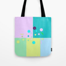 Play of colors Tote Bag