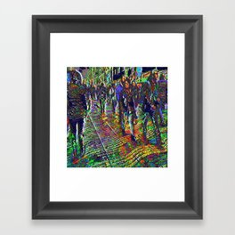 20180106 Framed Art Print