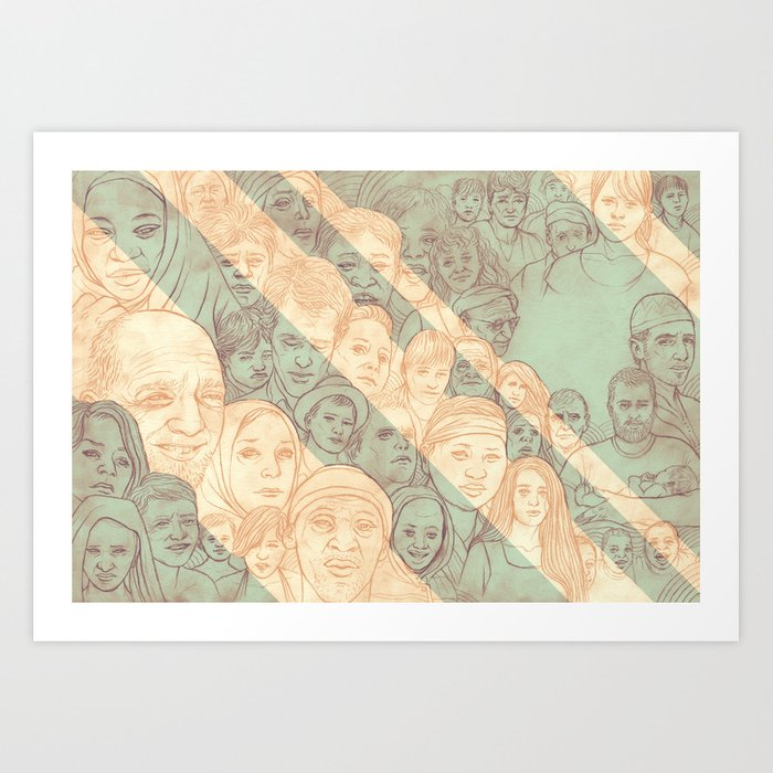 All the Nations Art Print