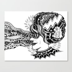 Silvia Canvas Print
