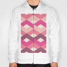 Pink Fancy Pattern Hoody