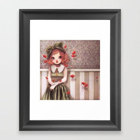 L'élégante Armada... Framed Art Print