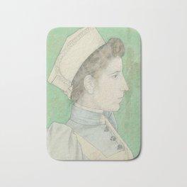 Portrait of Nurse Nelly, Jan Toorop, 1894 Bath Mat