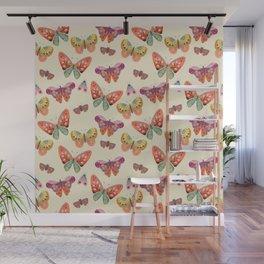 Botanical Butterflies Wall Mural