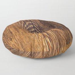 Wood texture 4 Floor Pillow