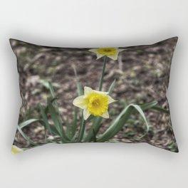 Spring Daffodil Rectangular Pillow