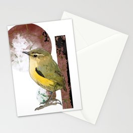 NZ Native Birb Collection - Waxeye Stationery Cards