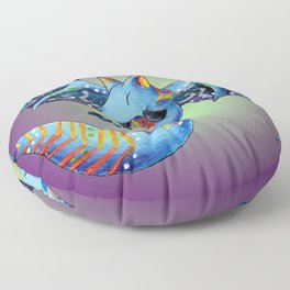 Nocturnal Trickster Floor Pillow