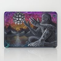 atlas iPad Cases featuring Atlas by Drake Arnold Art