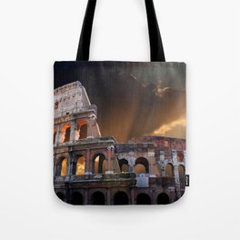 The Coliseum of Ancient Rome Tote Bag