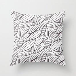 Stark Waves Throw Pillow