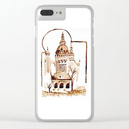 The wold that is not Clear iPhone Case