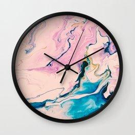 Ebb & Flow Marble Wall Clock