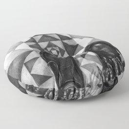 Art Beneath Our Feet - Berlin Floor Pillow
