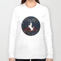 unicorn Long Sleeve T-shirts featuring Unicorn by Danse de Lune