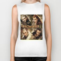 hobbit Biker Tanks featuring Hobbit by custompro