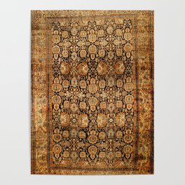 Antique Persian Malayer Rug Print Poster