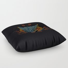 Owl Face Floor Pillow