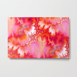 Synaptic Transmission Solar Flare Metal Print