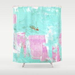 pinktürkis Shower Curtain