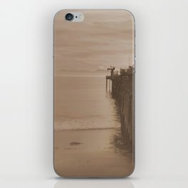 The Pier at Capitola iPhone Skin