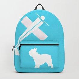 French Bull dog art Backpack