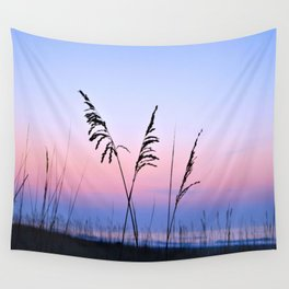 Sea Oats Sunrise Wall Tapestry